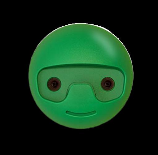pack appendino cameretta bambini tondino verde