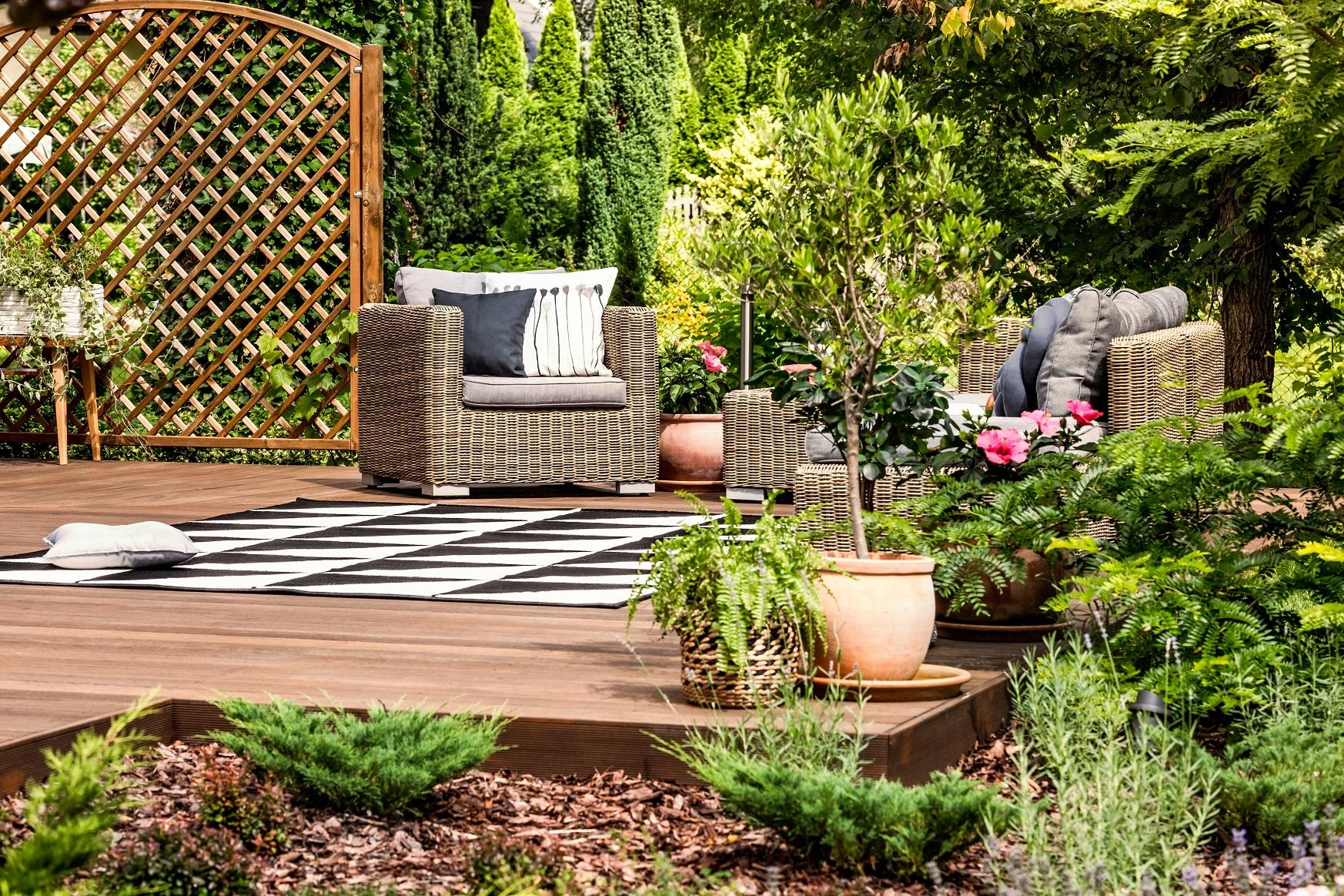 Divanetto Per Balcone Piccolo outdoor style: come arredare al meglio balconi e terrazze in