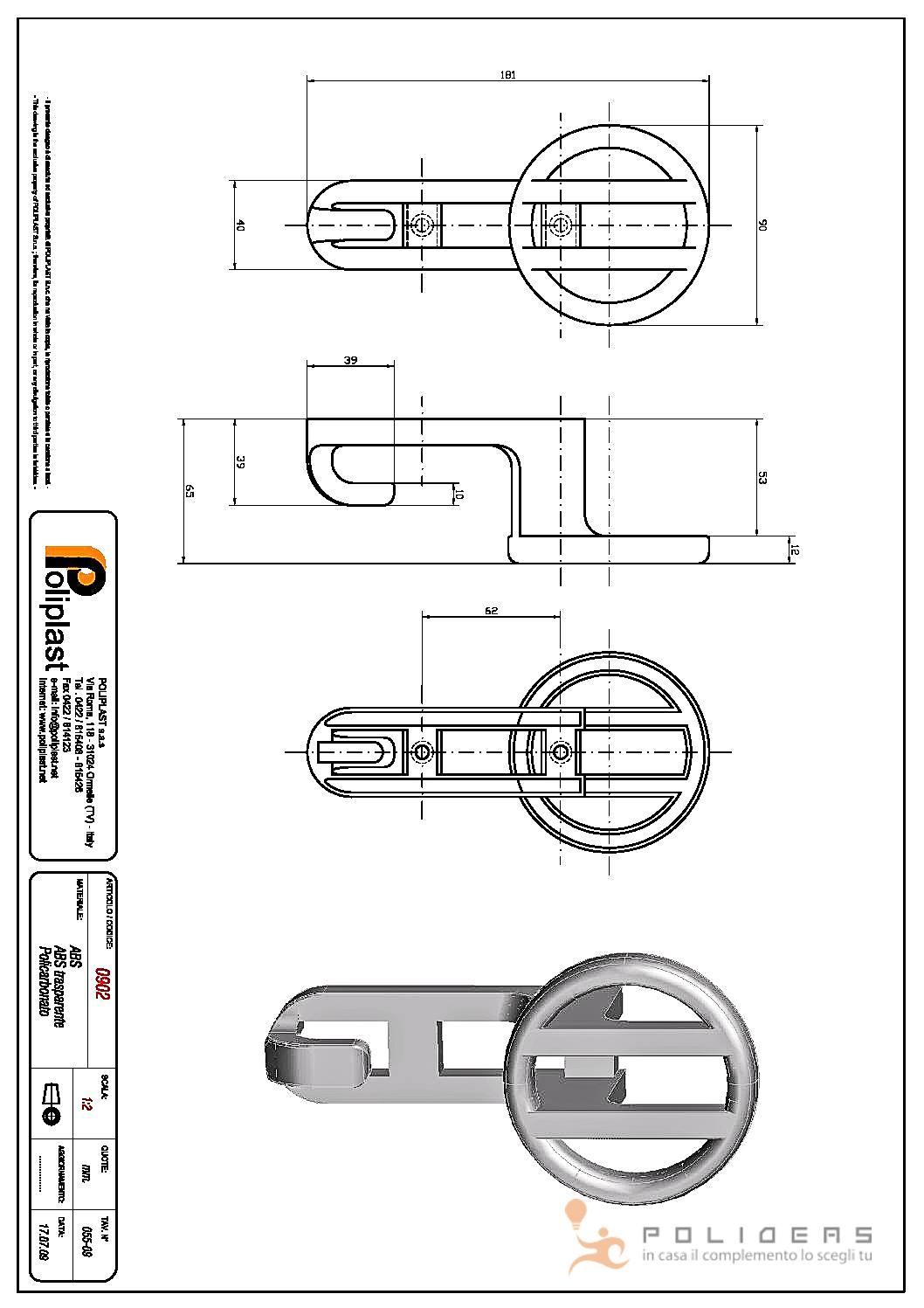 disegno appendiabiti camera pdf