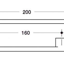 disegno maniglia mobile d c tecnico