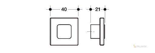disegno pomolo mobile d q tecnico