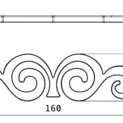 disegno tecnico maniglia design burak