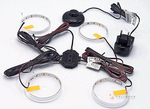illuminazione mobile kit led a con interrutore